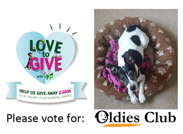 Oldies Club Pets at Home VIP Giveaway